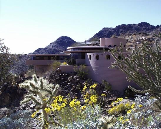 La dernière maison conçue par Franck Lloyd Wright -(1959) b