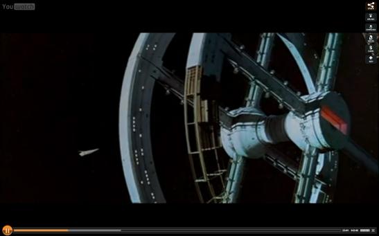 film - 2001 l'odysée de l'espace - Stanley Kubrick - 1968 - Photo 03