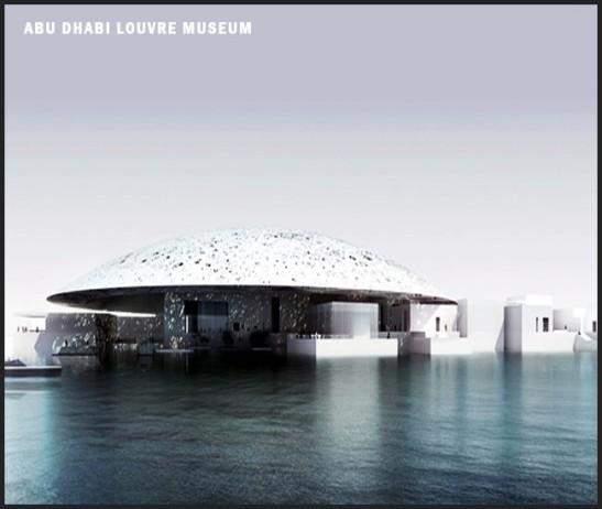 Le projet de Musée du Louvre d'Abu dhabi - Jean Nouvel - (2010 )