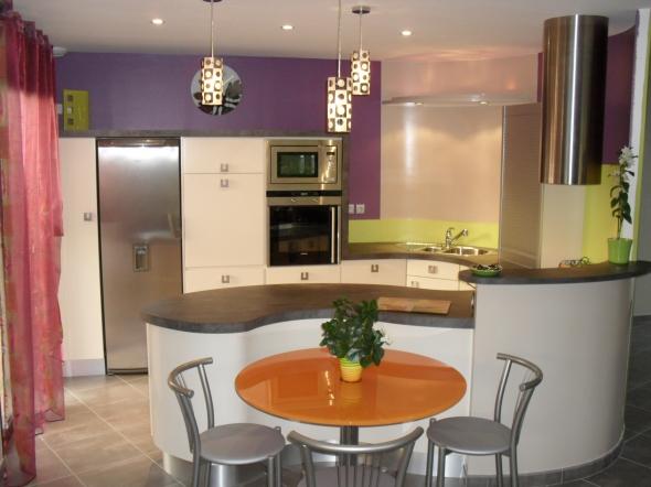 Table Ronde Cuisine Design. Table Ronde Extensible En Verre ...