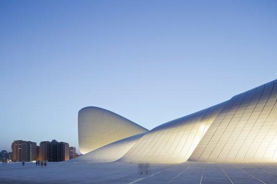 Heydar Aliyev - centre culturel - Bakou - Azerbaïdjan - Agence Zaha Hadid - 2012 - Photo 03