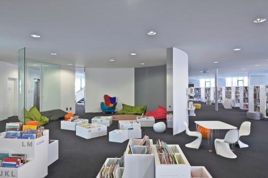 Bibliothèque et ludothèque - projet 2016 pour La Ferté-Bernard, France, Philippe Fichet architecte - photo 03