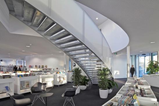 Bibliothèque et ludothèque - projet 2016 pour La Ferté-Bernard, France, Philippe Fichet architecte - photo 12